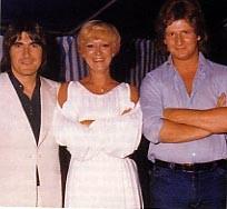 1976 - Avec Alice Dona et Patrick Sébastien
