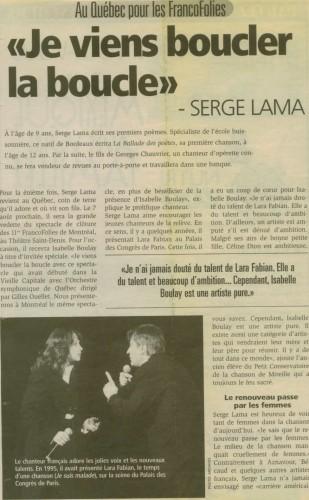 La Presse - août 1999c.JPG