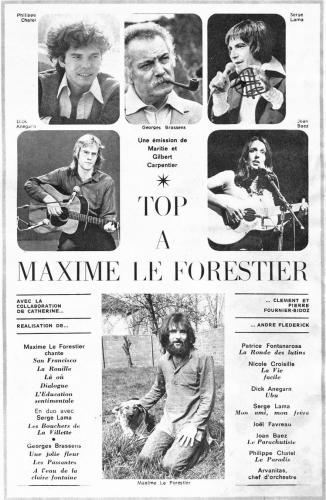 Télé 7 jours N 741 Top à Maxime Le Forestier.jpg